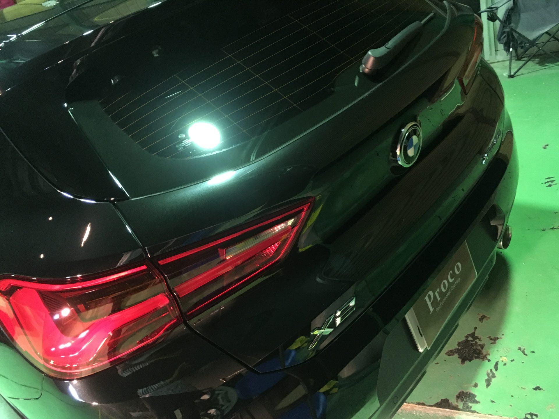 BMW X2 ガラスコーティング